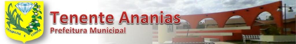 Resultado de imagem para PREFEITURA DE TENENTE ANANIAS (RN)