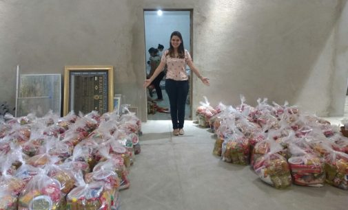 Prefeitura Municipal de Tenente Ananias fez a entrega de cestas básicas