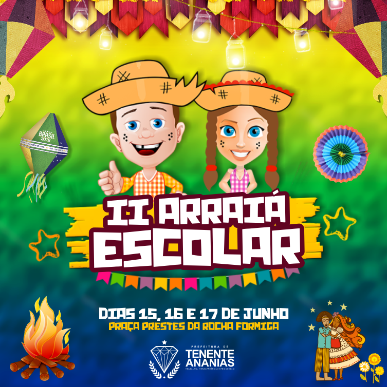 Arraiá Escolar 2018