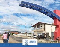 Prefeita visita obras em andamento no município