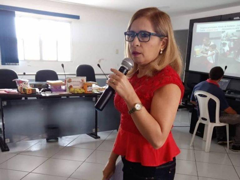Curso de Educação Especial para mais de 100 profissionais, entre eles professores e gestores da Rede Municipal.