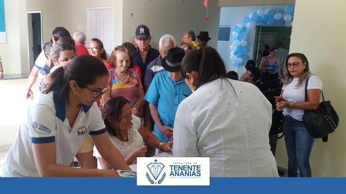 Unidade Básica de Saúde Dr Zeze, localizada na Vila Mata, sediou a ação social Hiperdia.