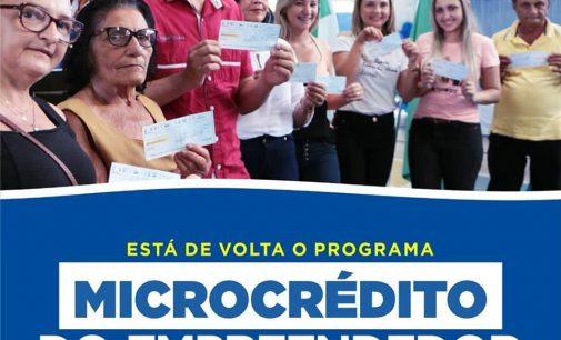 Tenente Ananias é novamente contemplado com o Programa Microcrédito Empreendedor – PME