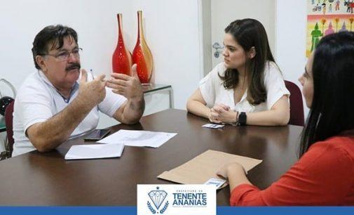 Prefeitura e AGN se reúnem para tratar sobre o fortalecimento e ampliação do Programa Microcrédito Empreendedor – PME em Tenente Ananias.