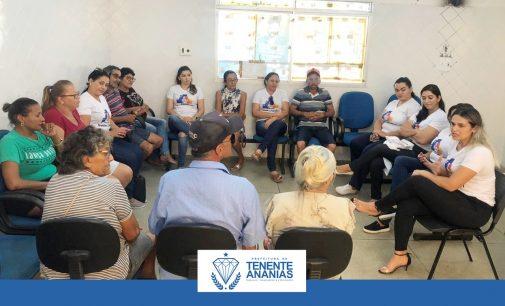 Secretaria de Saúde, através da ESF I realizou  no Centro de Saúde, encontro do grupo de tabagismo.