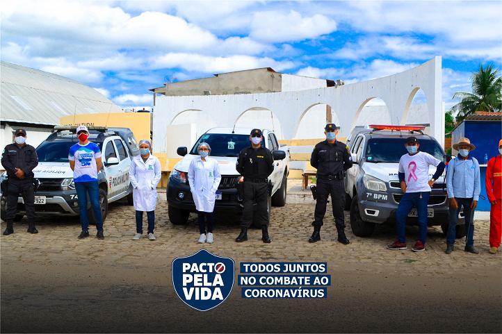 PACTO PELA VIDA, ação de monitoramento e orientações no município.