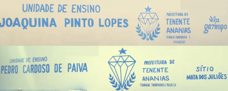 reforma e ampliação das Escolas Municipais Pedro Cardoso e Joaquina Pinto