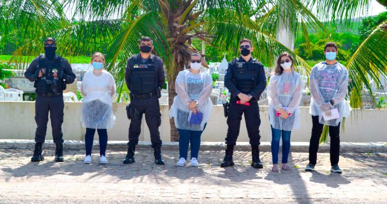 A esquipe de vigilância, por meio da Secretaria de Saúde de Tenente Ananias, realizou mais uma atividade de prevenção e combate ao Covid-19,