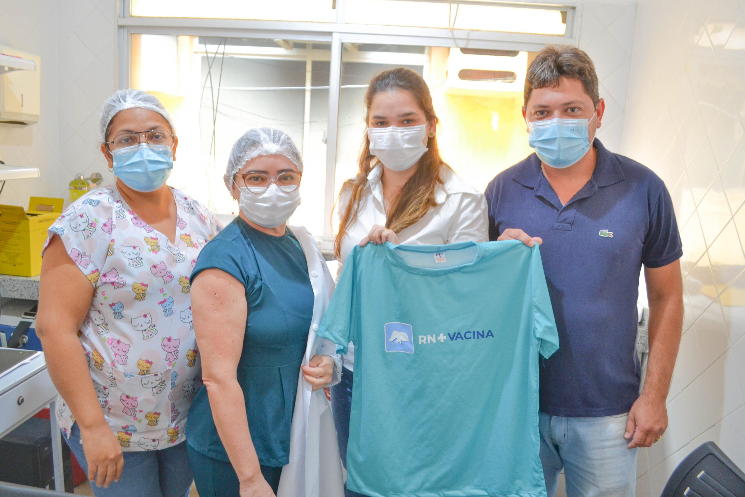 O Município de Tenente Ananias iniciou a Campanha de Vacinação COVID-19.